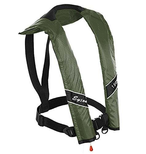 Eyson Slim Inflatable PFD Life Jacket Life Vest Adult Manual