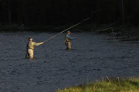 Freshwater fly fishing