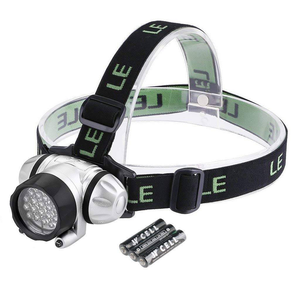 LE LED Headlamp, 4 Lighting Modes, Lightweight Headlight