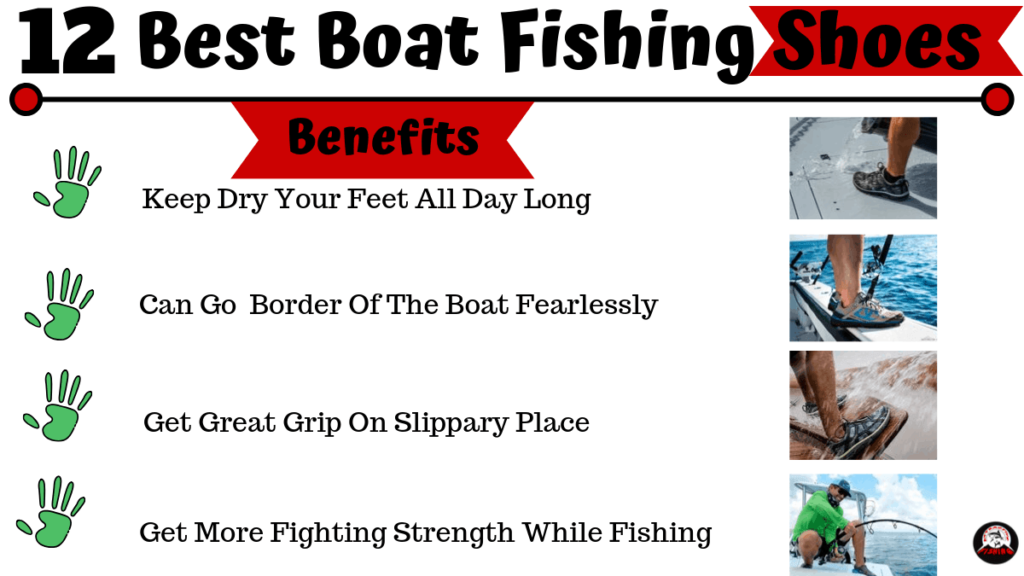 best boat fishing shoes