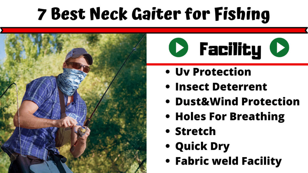 Best Neck Gaiter For Fishing