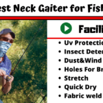 7 Best Neck Gaiter For Fishing Reviews 2020 [Benefits]